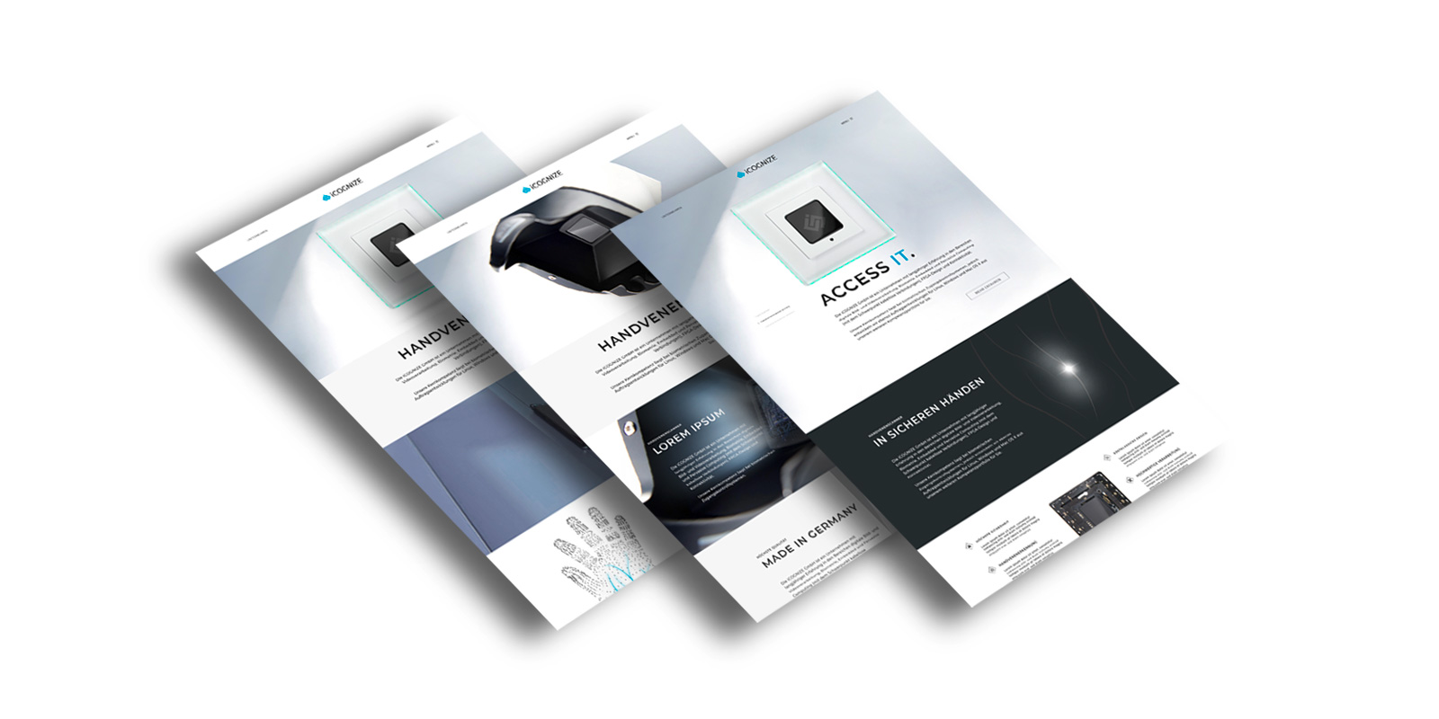 iCOGNIZE Handvene Contigo Werbeagentur Montabaur Digital Website