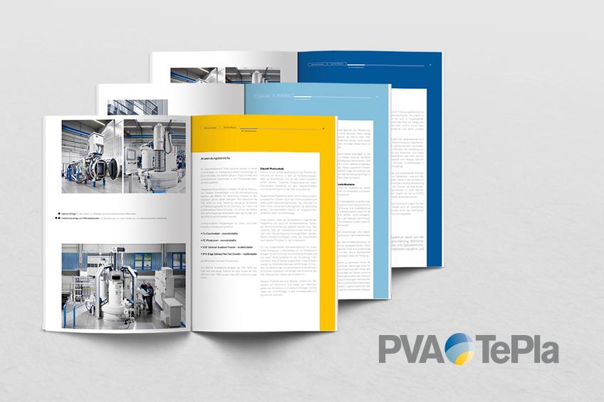 PVA TePla Geschäftsbericht Corporate Design Contigo